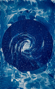 Spiral, after Jocelyn Bell Burnell
