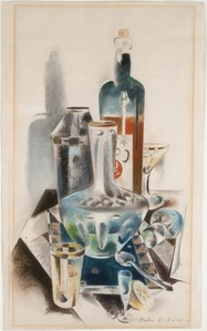 Decanter and Bottles