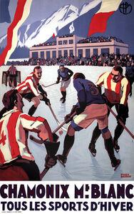 Chamonix - Mont Blanc - France - Hockey