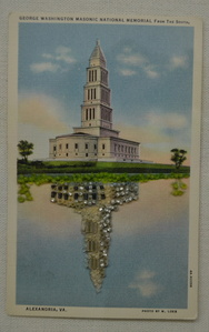 Untitled (George Washington Masonic National Memorial from the South)