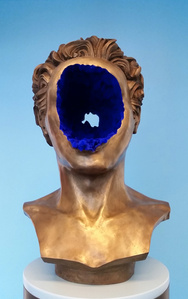 Human Excavation (Blue)