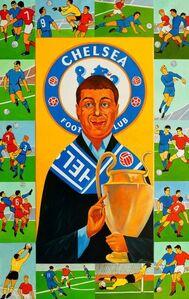Portrait of Roman Abramovich at Chelsea Football Club