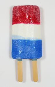 Red White and Blue Ice Cream Bar
