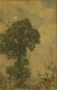 A TREE IN A LANDSCAPE