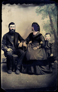 """Ann and Family (from the """"Techno Voids"""" series)"""
