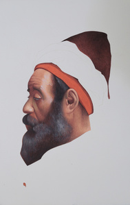 Profile of Moroccan Man, After Josep Tapiró Baró