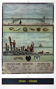 Citron-Citroen, réclame pour la Mer du Nord (Advertisement for the North Sea)