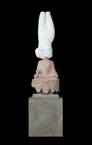 Eternity-Aphrodite of Knidos, Tang Dynasty Sitt ing Buddha