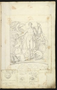 Peinture antique trouv'e … Herculanum