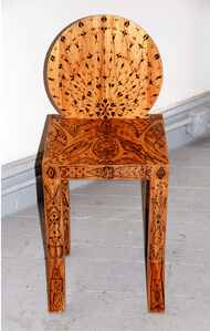 """El Castor"" Tattoo Stool"