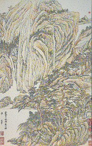 CMYK-Ming Dynasty-Dong Qichang-Landscape