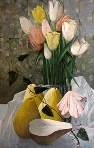 Tulipes et poires