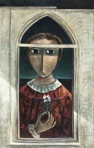 Girl on the window