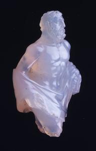 Miniature statuette of Herakles