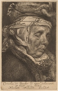 Head of an Old Woman (Visscher's Mother)