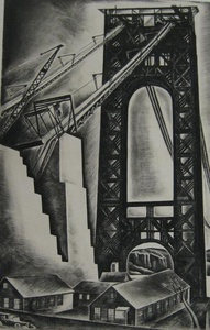 Hudson River Bridge (George Washington Bridge)