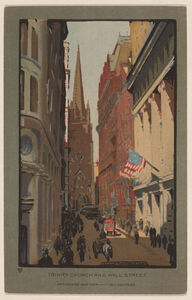Trinity Church and Wall Street