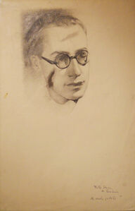 Fritz Sterne, portrait of the Hedda Stern first husband