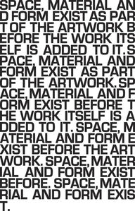 0,4 m2 space, material and form