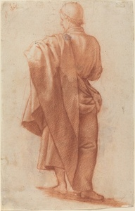 Standing Draped Man [recto]