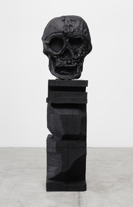 Death Mask I (Carved Base)