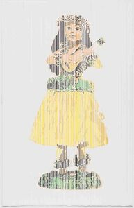 Hawaiian Girl with Ukelele Bobble, Perceive-Conceive Series (Ed. of 11)