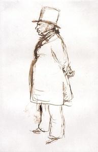 Turner on Varnishing Day at the Royal Academy