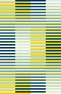 D130 horizontal-vertikal gelb-blau