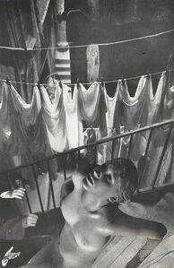 Untitled (Nude and Laundry)