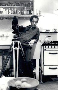 Robert Frank Behind Camera in Kitchen - Pull My Daisy