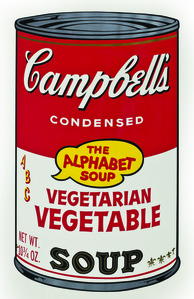 Soup Can, Vegetarian Vegetable