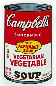 Soup Can, Vegetarian Vegetable
