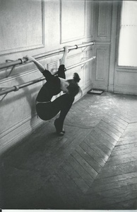 Audrey Hepburn training for funny face