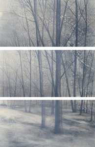 Walkscapes #1, triptych