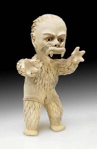 Longa Gatuna, Una Fierecita, Más le Pegas, más te quiere! Purrrrrr… Tamaco/Tolita, Columbia/Ecuador. 300 BC - AD 300