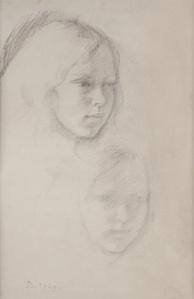 Double Portrait de Jacqueline Matisse