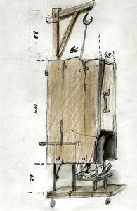 Let artists perish: accessoire (gallows- closet)