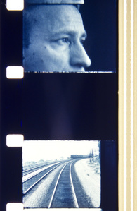Jonas,from the train in Avignon, 1966