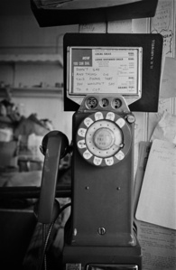 Telephone, Haight Street, San Francisco, CA, 1967