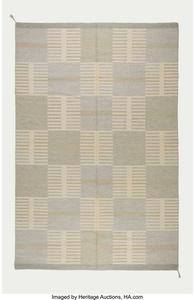 Geometric Flat-Weave Carpet