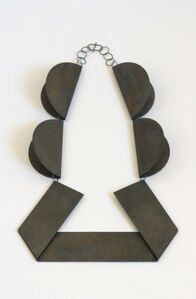 Collier 4 Circles (black)