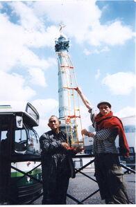 P, Paris, Place de la Bastille, 1997