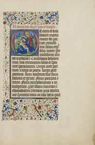 Initial O: The Piet… with Saint John the Evangelist