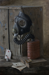 Still Life with Gas Mask