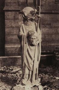 Sculpture of St. Denis, Notre Dame, Paris