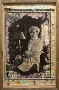 Andy Warhol at Home, Church Estate, Montauk, NY