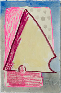 Untitled (yellow triangle)
