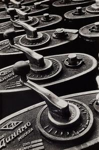 Tram control levers