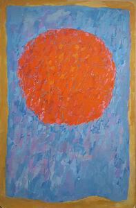 Untitled (Orange Moon)