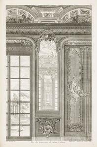 Vue des trumeaux du même Cabinet, 3rd Plate